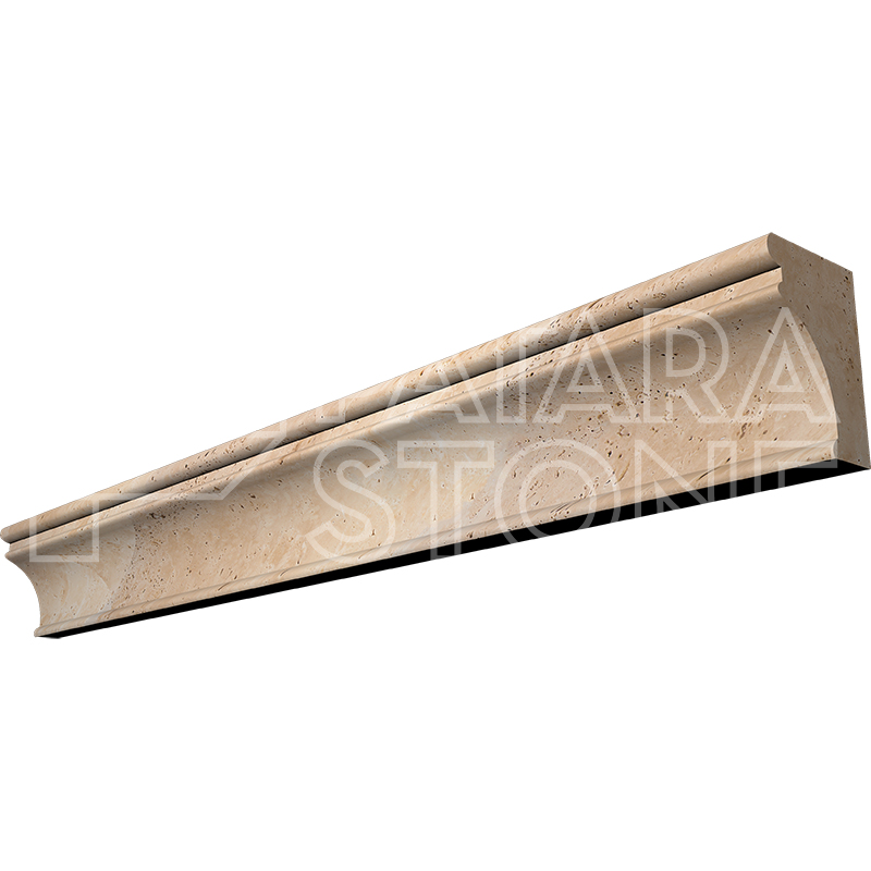 Travertine Chair Rail 2 X 12 Part - 38: Ivory Capital Chair Rail 2×12