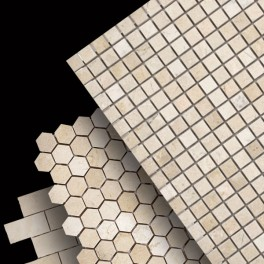Crema Marfil Mosaics