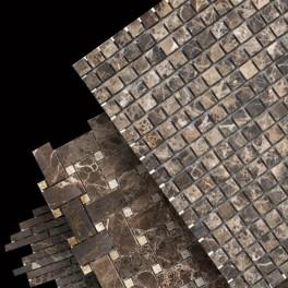 Dark Emperador Mosaics
