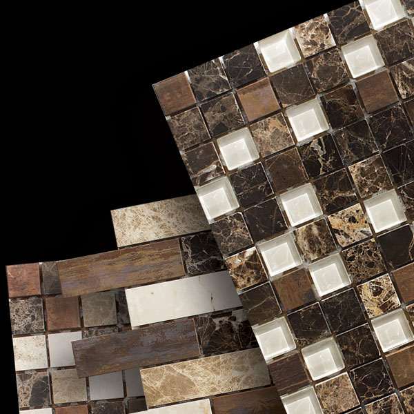 Metal&Stone Mosaic Blends