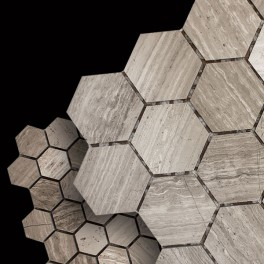 Wooden Gray Mosaics