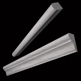 Wooden Gray Mouldings and Liners