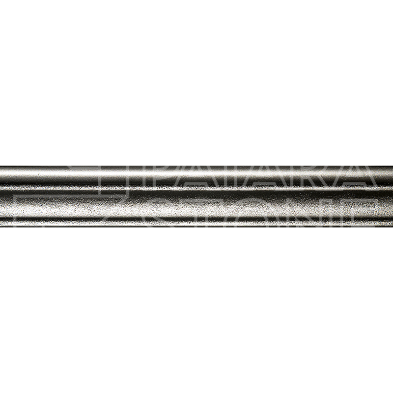Retro Chair Rail Satin Nickel 2X12