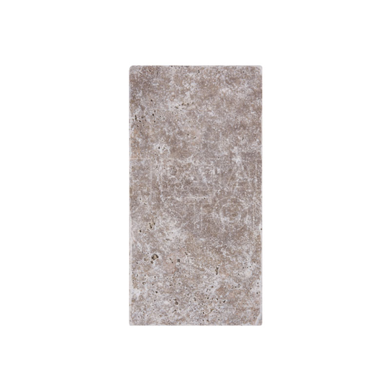 Tumbled Riverbed Walnut Beige 3: WALNUT PAVER TUMBLED 8x16x3 CM