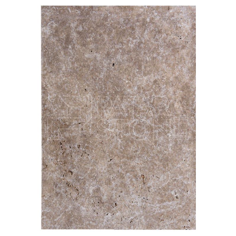 Tumbled Riverbed Walnut Beige 3: WALNUT PAVER TUMBLED 16x24x3 CM